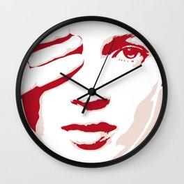 PINK MOSS Wall Clock