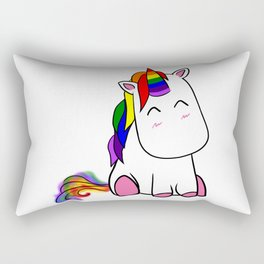 Lenny the Unicorn Rectangular Pillow