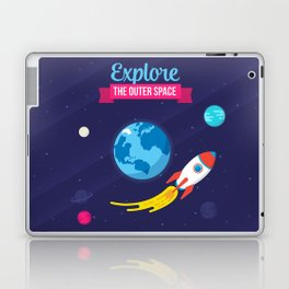 Explore the outer Space Laptop & iPad Skin