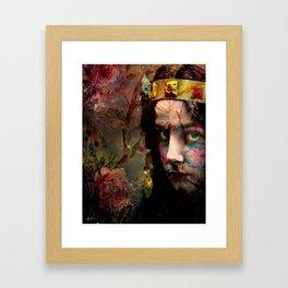 no24 Framed Art Print