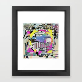 GONE, MY SILENT EARS Framed Art Print