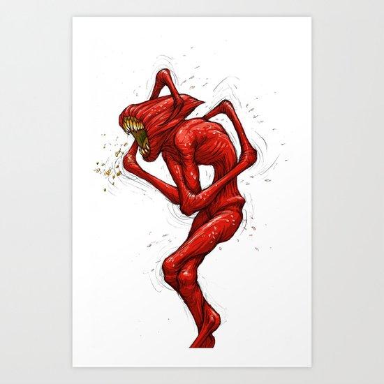 The Fever Art Print