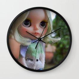 Miau - Blythe doll #17 Wall Clock