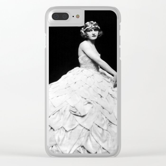 Mary Clear iPhone Case