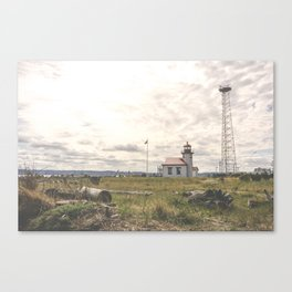 The Lighthouse on Vashon Island Canvas Print