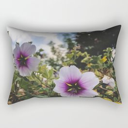 flowers are purple Rectangular Pillow