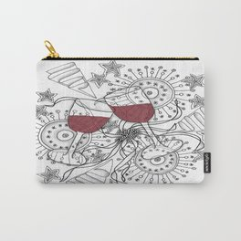 Zentangle Celebrate Everything Carry-All Pouch