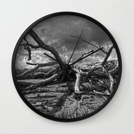 Deadwood Wall Clock