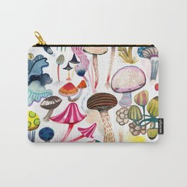 Mushroom Collection - b r i g h t s Carry-All Pouch
