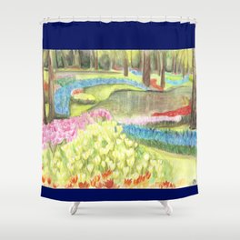Bit of Holland - Keukenhof Shower Curtain