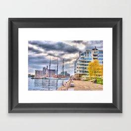 harbourfront toronto Framed Art Print
