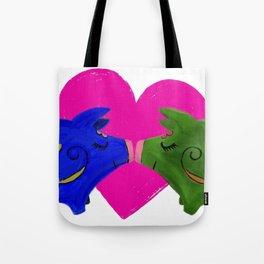 te quiero •te amo • te adoro Tote Bag