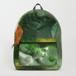"""Aquatic Spring Girl"" (2018 Version) Backpack"