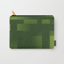 Green Abstraction Carry-All Pouch