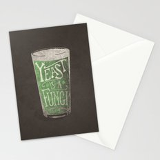 St. Patricks Variation - Yeast is a Fungi Stationery Cards