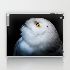 Winter White Snowy Owl Laptop & iPad Skin