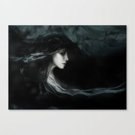 I Am the Ash Left From My Own Extinguishment Canvas Print
