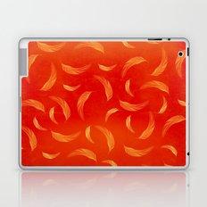 Orange feathers Laptop & iPad Skin