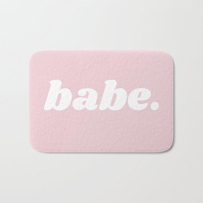 babe Badematte