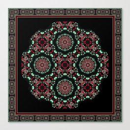 Holiday Mandala Canvas Print