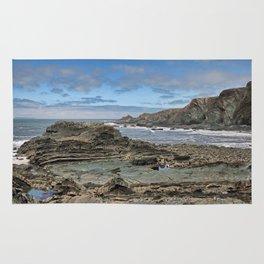 Hartland Quay Coast Rug