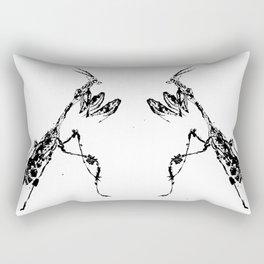 Violin Mantis Rectangular Pillow