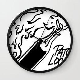 PL Logo Wall Clock