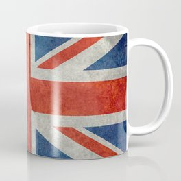 Square Union Jack retro style, made for the Pillows, Duvets and Shower curtains Coffee Mug