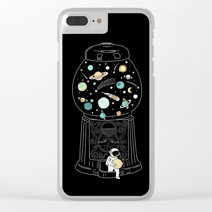 My Childhood Universe 2 Clear iPhone Case
