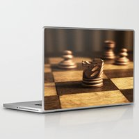 chess Laptop & iPad Skins featuring Chess by Janelle