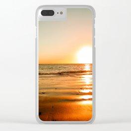 Rota Spain Beach 4 Clear iPhone Case