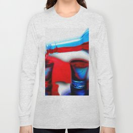 The Drink That Inspires You Ode To Addiction Long Sleeve T-shirt