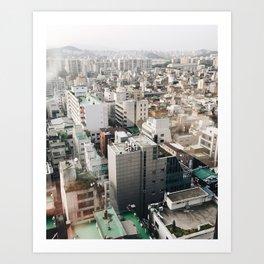 seoul-soul Art Print