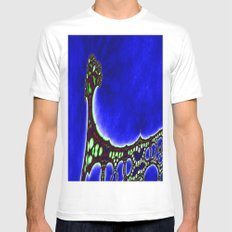 bridge to... Mens Fitted Tee White SMALL