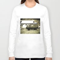 truck Long Sleeve T-shirts featuring Old truck. by Alejandra Triana Muñoz (Alejandra Sweet