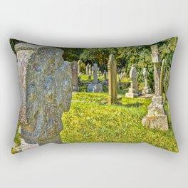 St. Mylor Church - Headstones Rectangular Pillow
