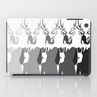 suits iPad Cases featuring Suits me - Black and white  by DisdainGlittersGold
