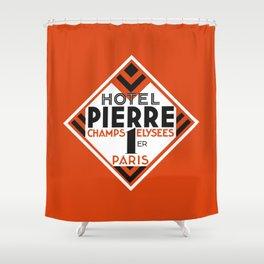 Hotel Pierre Paris Art Deco Shower Curtain