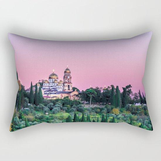 New Athos, Abkhazia Rectangular Pillow