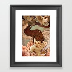 Avis Framed Art Print