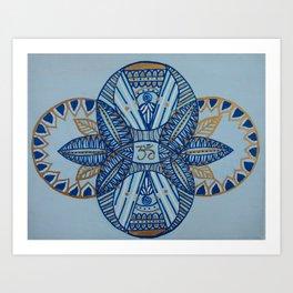 Om Balance Art Print