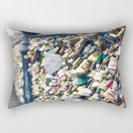 Pont des Arts Rectangular Pillow
