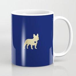 French Bulldog Gold Coffee Mug