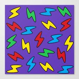 90's Bolt Canvas Print