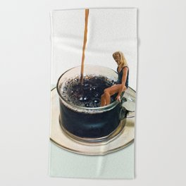 COFFEE Beach Towel