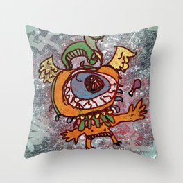 Handsome Fred Throw Pillow