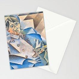 "Juan Gris ""Portrait of Pablo Picasso"" Stationery Cards"