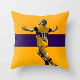 Juan Roman Riquelme - Boca Juniors Throw Pillow