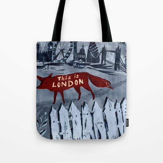 Locals/Only - London Tote Bag