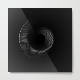 Black Holes / Thoughts Metal Print
